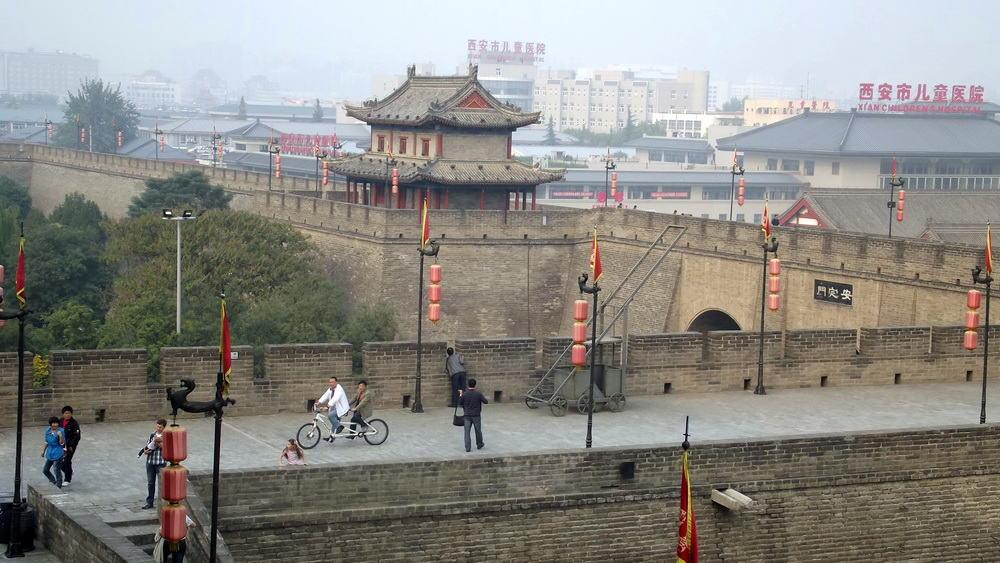 Stadsmuur Xi'an
